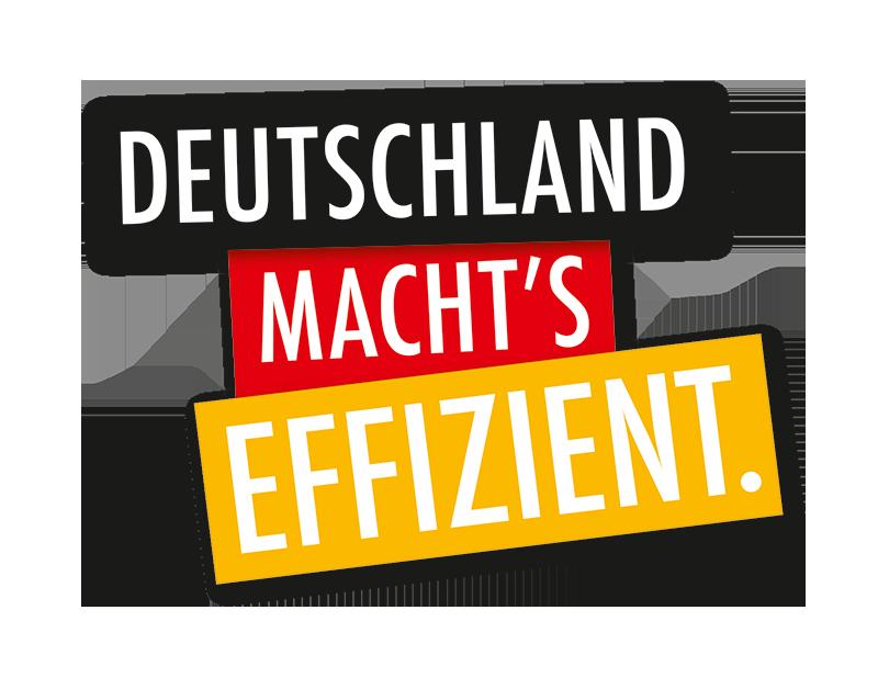 Logo Deutschland machts effizient!